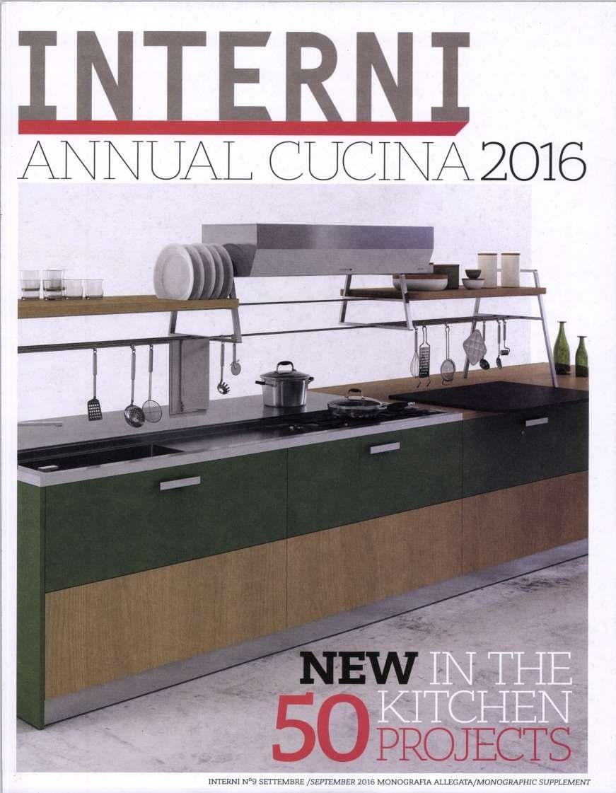 Interni annual cucina 2016 press marsotto edizioni for Cucina 2016