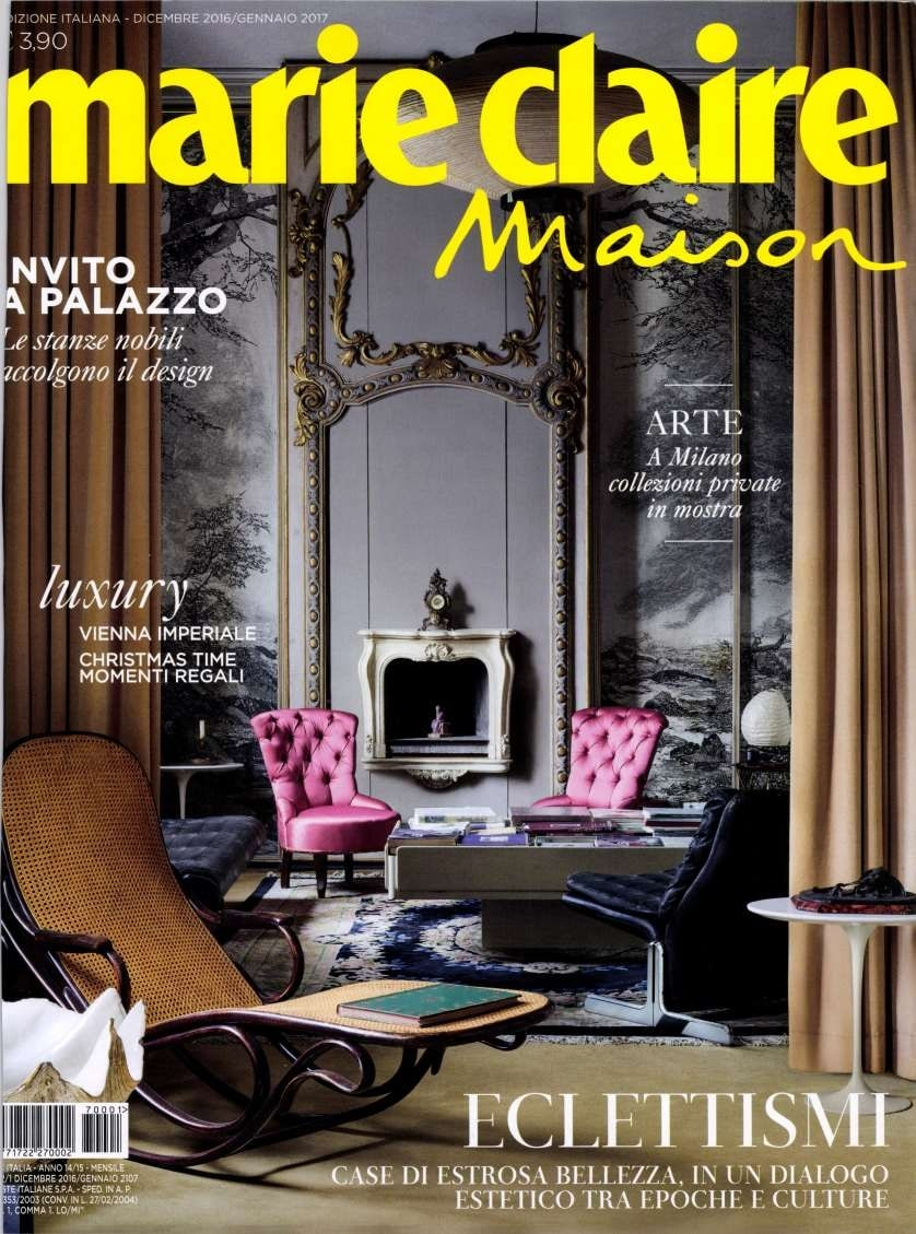 marie claire maison december 2016 january 2017 press marsotto edizioni. Black Bedroom Furniture Sets. Home Design Ideas