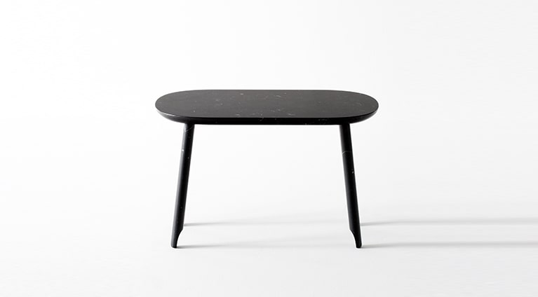 beeea34ca0 Ballerina low table in black marble. Ballerina low table, White Carrara ...