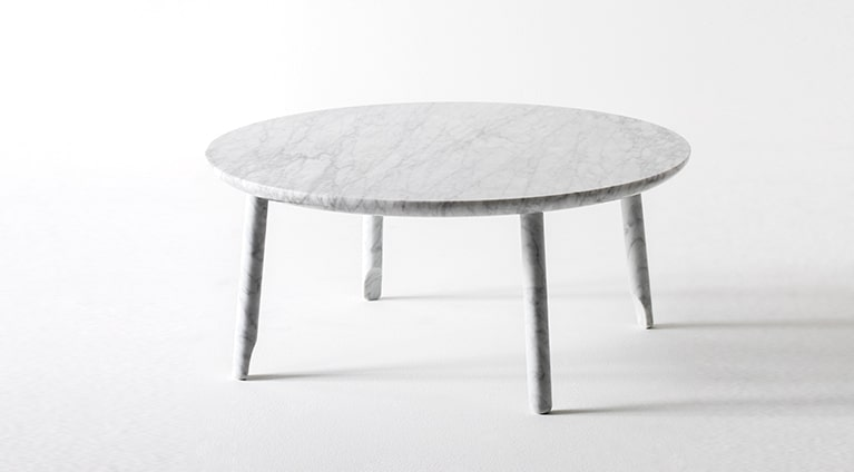 2fb353c8d0 Ballerina Low table in White Carrara marble | Products | Marsotto ...