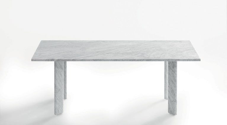 Dining table in marble Agorà