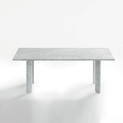 Agorà dinning table in marble