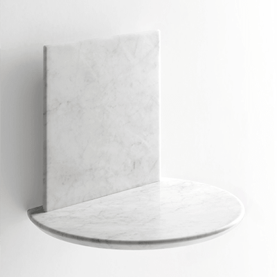 bebek shelf in marble