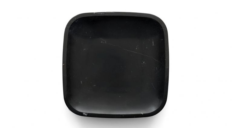 Fruit bowl in black marquina marble Dina