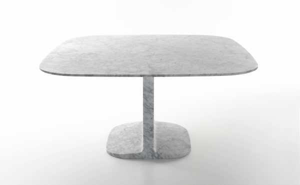 square table in marble design by James Irvine