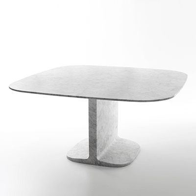 Dino dining table in marble