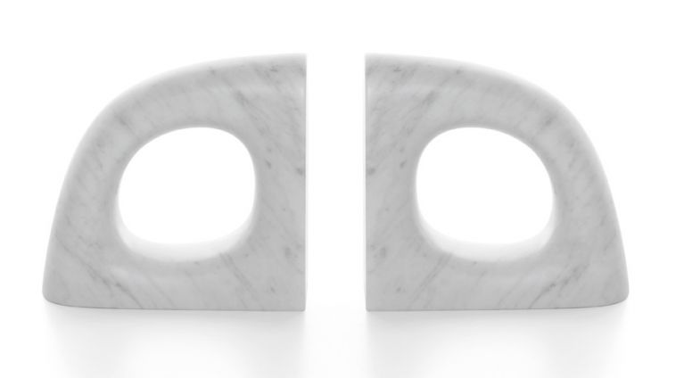 book ends in marble