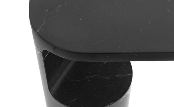 Galata side table in marble design by Konstantin Grcic