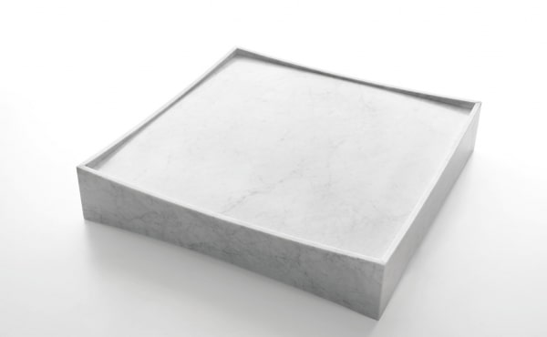 Gallery, Claesson Koivisto Rune, Low table, square, in White Carrara marble, matt polished finish