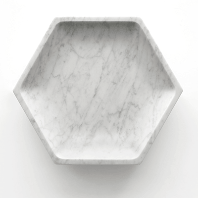 Gina fruit bowl in marble