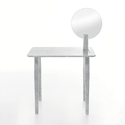 Isa dressing table in marble