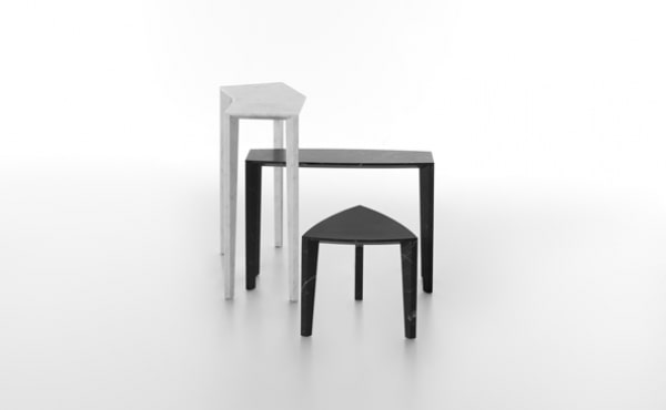 set of tables Sid in marble