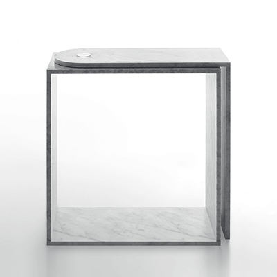 Keyboard desk in marble