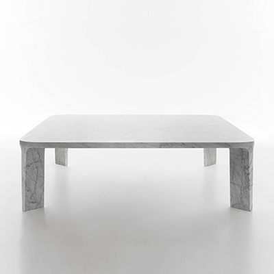 Lino low table in marble