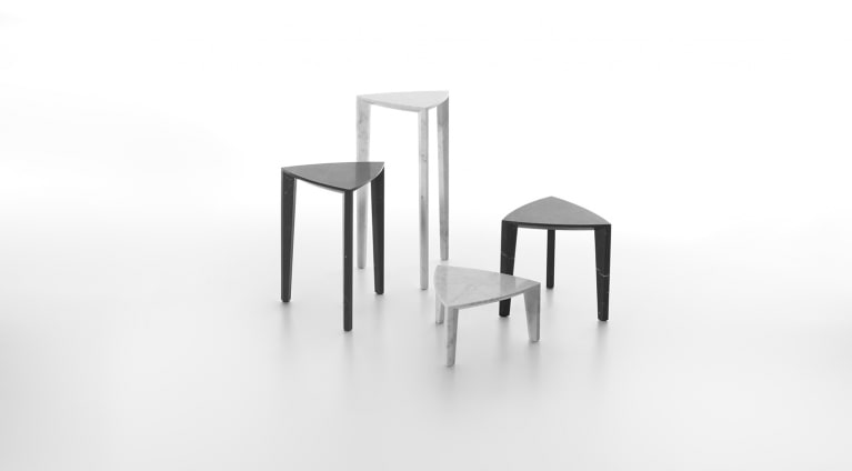 set of tables in marble Lou