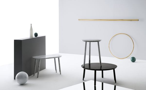 Ballerina low table for Marble On Stage Marsotto Edizioni