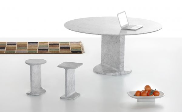 products in white carrara marble by james irvine