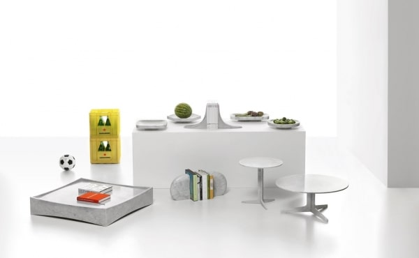 low table and products design by Alberto Meda