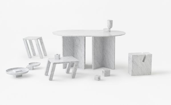 objects in marble design by nendo oki sato