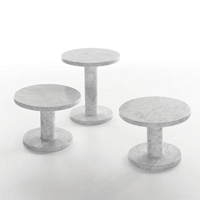 Marbelous low table in marble