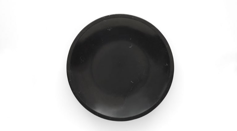 Fruit bowl Mimma in black marquina marble