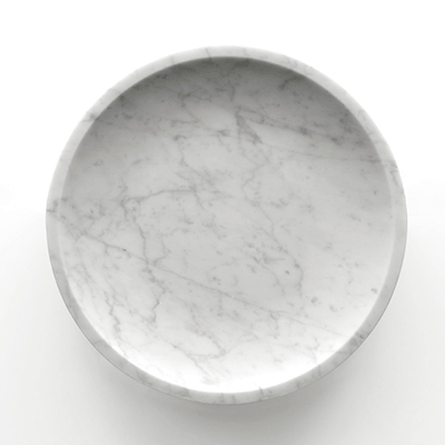 Mimma fruit bowl in marble