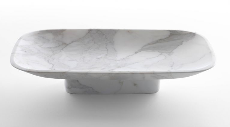 fruit bowl Pia in Calacatta or White Carrara marble