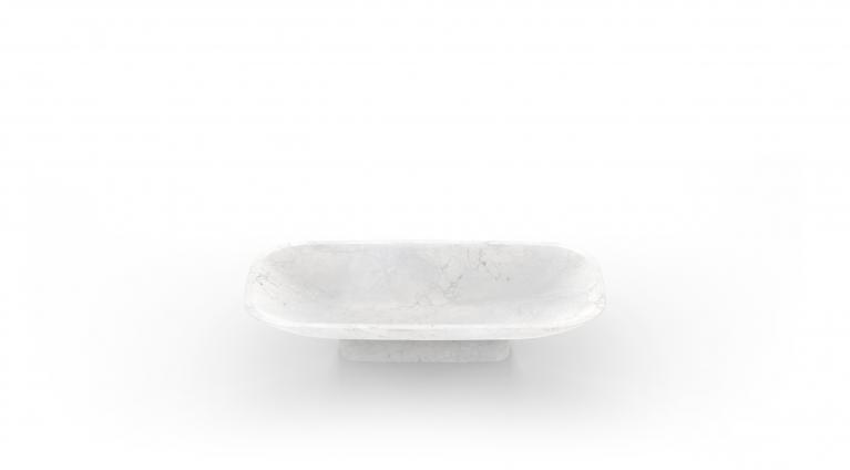 fruit bowl Pia in Calacatta or White Carrara marble