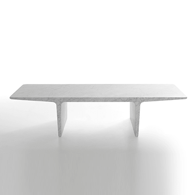 Ponte low table in marble