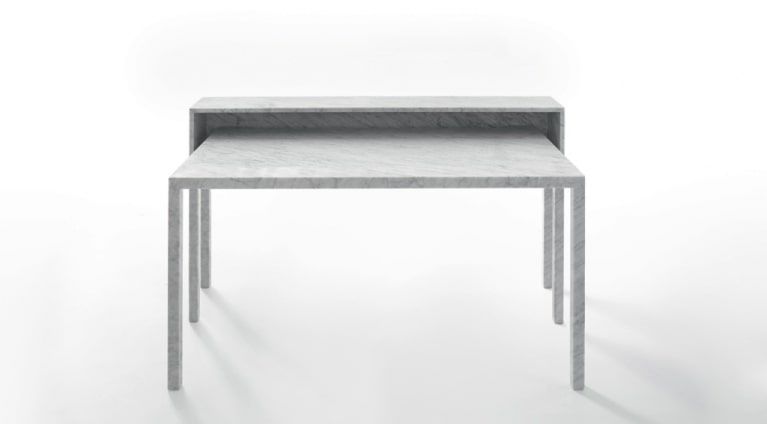 desk rendez vous 87 in marble