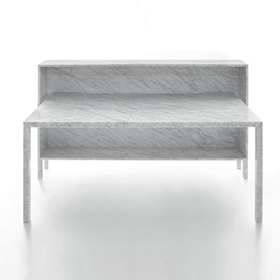 Rendez vous 105 desk in marble