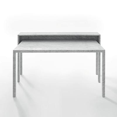 Rendez vous 87 desk in marble
