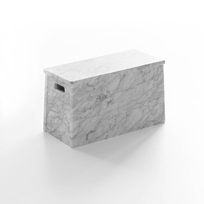 Rome low table in marble