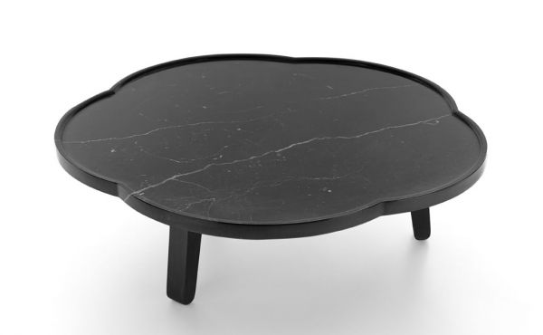 soya tray table design by Claesson Koivisto Rune in black marquina marble