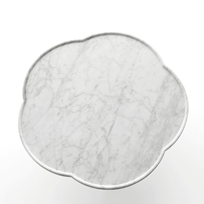 Soya low table in marble