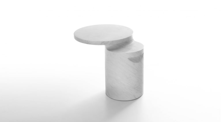 Taksim side table in marble