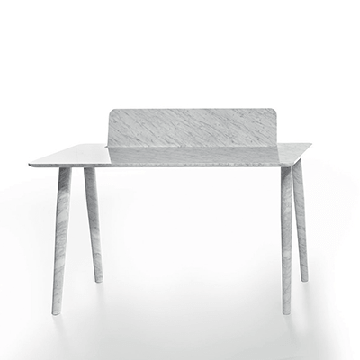 Toio writing desk in marble