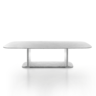 Toni dining table in marble