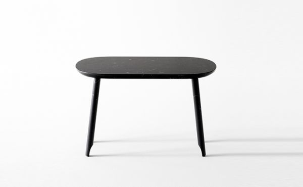 Ballerina low table in black marble