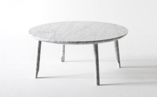 Ballerina low table design by Nendo Oki Sato