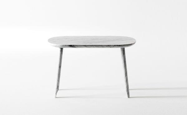 Ballerina low table by Nendo Oki Sato