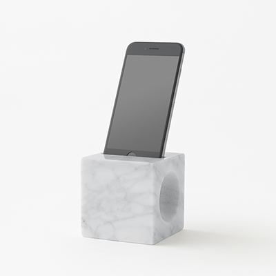 phone holder in marble