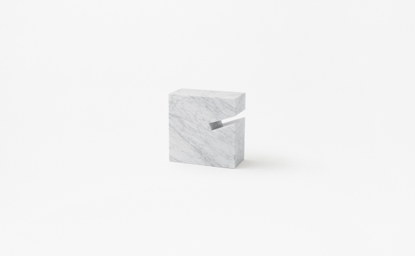 Side table or book stand Gap in marble