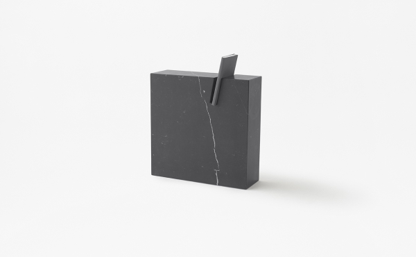 book stand in marble
