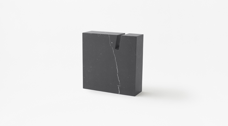 Gap Side table or book stand in Black Marquina marble