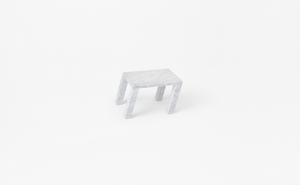 Nod design by Nendo Oki Sato in marble