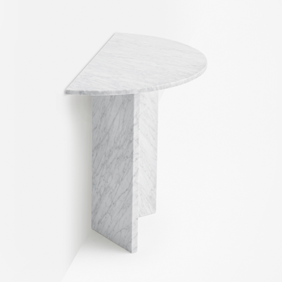 split console in marble