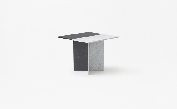 square modular table in marble Split Joint