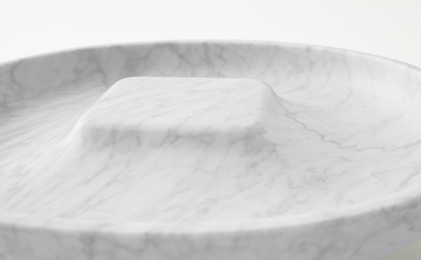 details Underbowl L bowl design by nendo