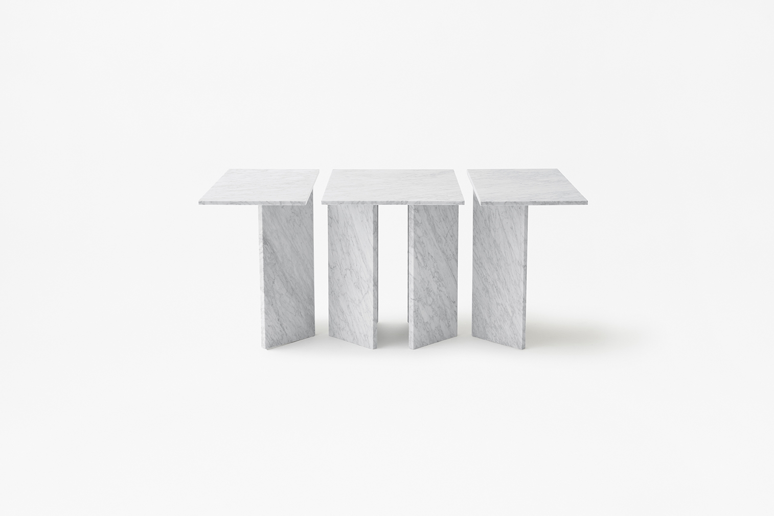 Modular Table System In Marble Split Joint Products Marsotto - Modular conference table system